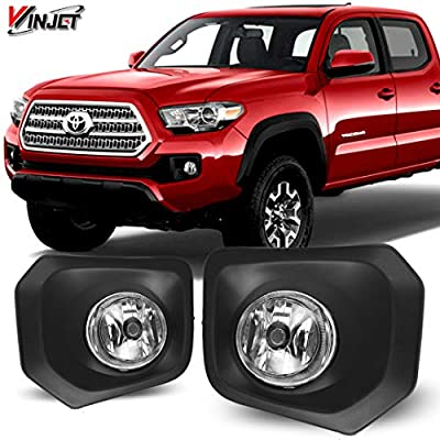 Winjet OEM Series for [2016 2020 2020 2020 2020 Toyota Tacoma] Driving Fog Lights + Switch + Wiring Kit: Automotive