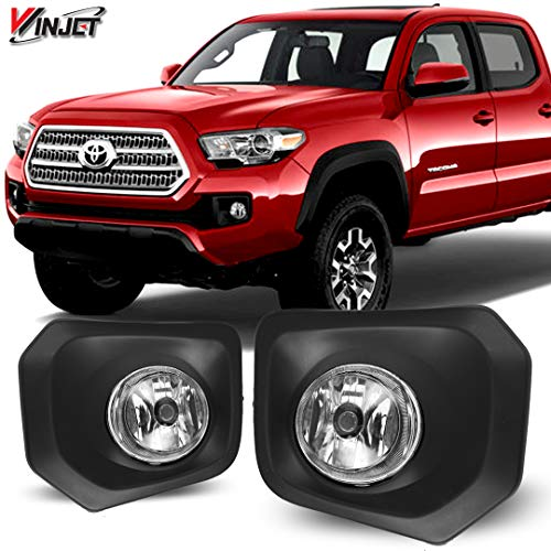 Winjet WJ30-0448-09 OEM Series for [2016-2019 Toyota Tacoma] Driving Fog Lights + Switch + Wiring Kit