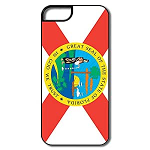 WallM Flag Of USA Florida State Case For Iphone 5/5S