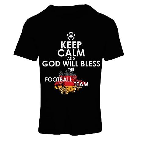 ... bendecirá al equipo nacional de fútbol de Alemania, el Campeonato de Rusia 2018, la Copa Mundial, el aficionado al fútbol: Amazon.es: Ropa y accesorios