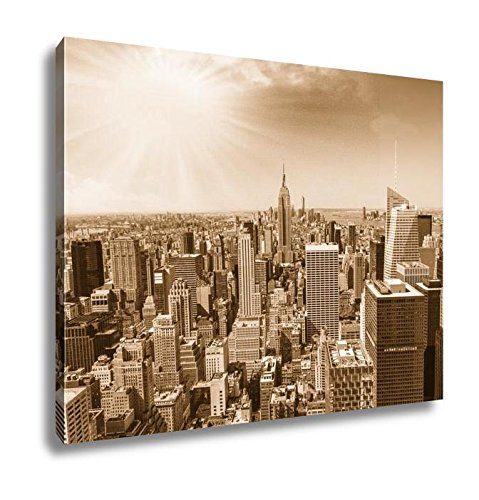 AshleyキャンバスBeautiful View Of New York City Skyline 24