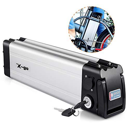 X-go Ebike Battery 36V 10Ah Lithium Li-ion Battery E-Bike Discharge Electric Bicycles(Down Discharge)