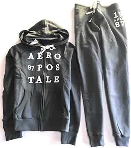 004faf4602ba Aeropostale Women s Two Pieces Set Hoodie and Jogger Pants