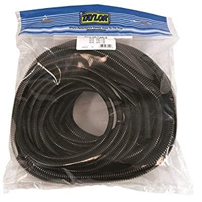 Taylor Cable 38000 Black Pre-Packaged Convoluted Tubing Assortment: Automotive