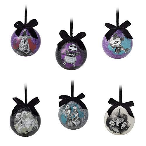 Disney Tim Burtons The Nightmare Before Christmas Ball Ornament Set