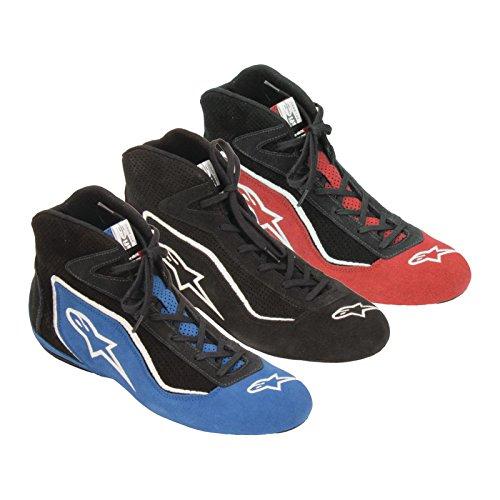 ALPINESTARS SP SHOE - BLACK - SIZE 8.5 - SFI 3.3 LEVEL 5/FIA - (Alpinestars Racing Shoes)