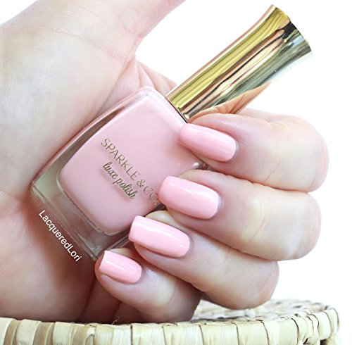 Sparkle & Co. Luxe Polish-Barefoot Beauty: Petal Pink