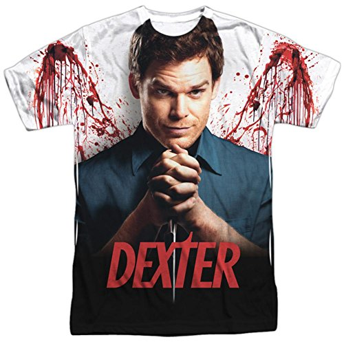 Dexter Dark T-shirt - Dexter- Wings T-Shirt Size L