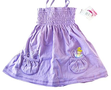 amazon com disney princess cinderella purple summer dress