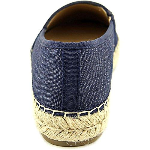 Marc Fisher Frauen PALMER Loafers Medium Blue Fabric