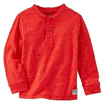 OshKosh B'gosh Red Round Neck T-Shirt For Boys