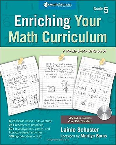 Amazoncom Enriching Your Math Curriculum Grade 5 Fifth Grade