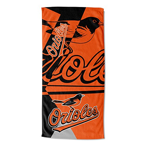 Baltimore Beach Towel Orioles (The Northwest Company MLB Baltimore Orioles Puzzle Beach Towel, 34