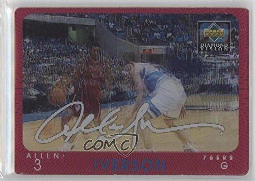 Allen Iverson (Basketball Card) 1997-98 Upper Deck Diamond Vision - [Base] - Signature Moves #S20