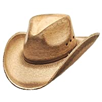 WESTERN EXPRESS Pinch Front Palm Hat (L)