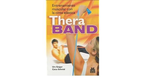 ENTRENAMIENTO MUSCULAR CON LA CINTA Thera Band (Bicolor ...
