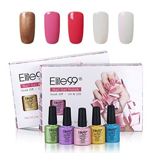 Elite99 Soak Off UV LED Gel Polish Nail Art Manicure Varnish