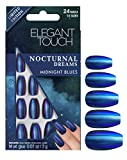 Elegant Touch Nocturnal Collection Nail Care, Midnight Blues
