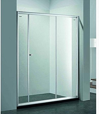 Ya Jin mitad Ronda ducha de acero inoxidable puerta de cristal pomos back-to-back tirador de puerta Tire: Amazon.es: Bricolaje y herramientas