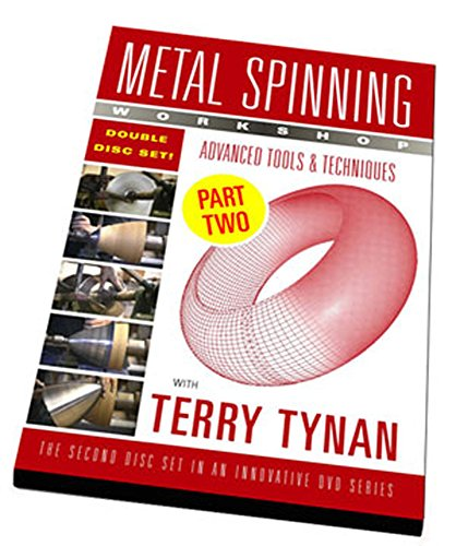 """Metal Spinning Workshop DVD """"Advanced Tools & Techniques"""""""