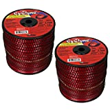 Cyclone Desert Extrusion CY105S3 .105'' x690' Commercial Line Red [2/Case] (2-Pack)