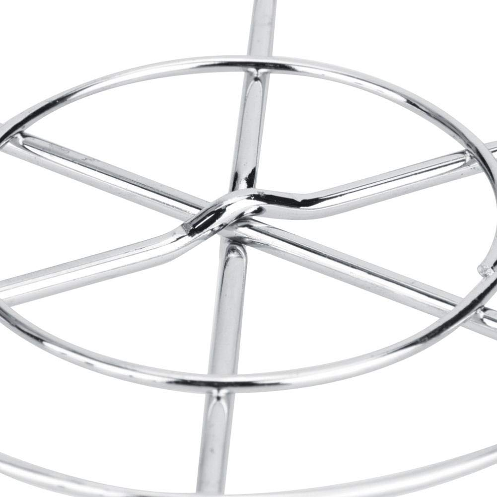 Grill gegrilltes Gitter-Gestell-kampierendes Picknick-Werkzeug im Freien Simlug Runde Form BBQ-Maschendraht-Grill-Netz