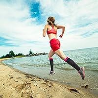 Shin Splints Maternity Pregnancy Nurses Athletic Sports Varicose Veins Compression Socks for Women /& Men Edema Flight Travel Deilin Graduated Compression Sock 20-30 mmhg for Running