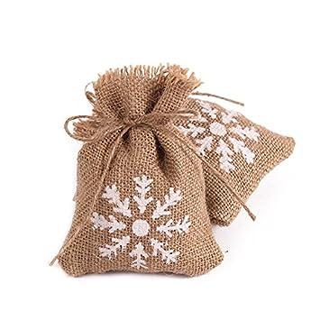 Amazon.com: 50pcs/pack brulap bolsas de caramelos con cuerda ...