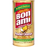 Bon Ami Powder Cleanser (14 oz, 4 Pack) Works Great as A Kitchen Countertop Cleaner and Bathroom Tile Cleaner, Scratch Free Earth Friendly Home Cleaner