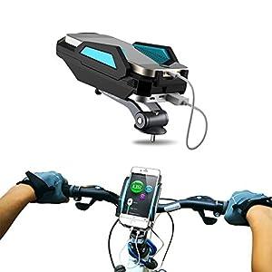 Amazon.com: Bike Mount Phone Holder Charger- 6000Mah Power ...