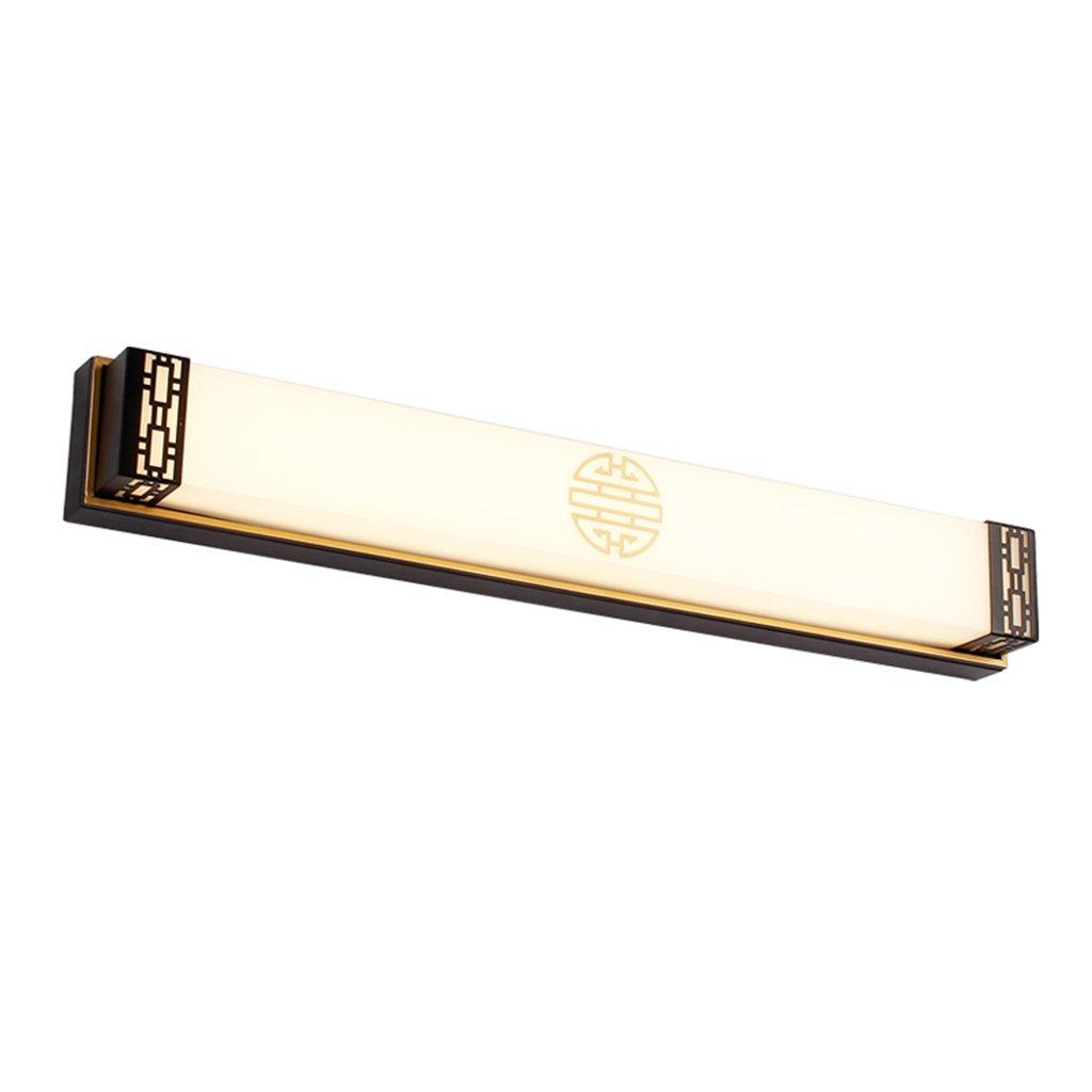 &Spiegelleuchte LED-Spiegel-Licht, Make-up-Spiegel-Licht Badezimmer Badezimmer Lampe, Schlafzimmer, Kleiderschrank und Make-up-Tabelle (Farbe   weißes Licht-20W 48cm)