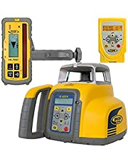 Spectra Precision GL422N Dual Grade Laser Level, Automatic Self-Leveling with HL760 Receiver, Radio Remote Control, Adapters, Rechargeable Batteries, Charger, Case