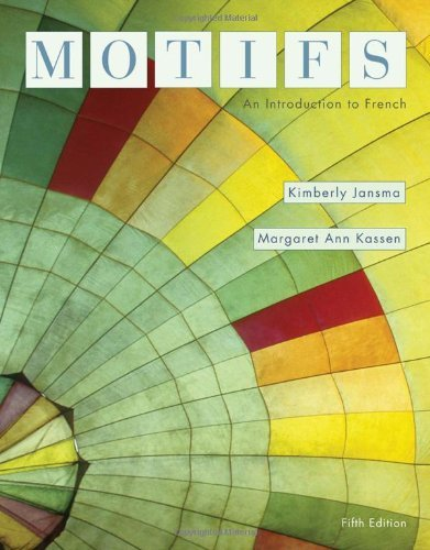 Download By Kimberly Jansma - Motifs: An Introduction to French, 5th (fifth) Edition: 5th (fifth) Edition PDF