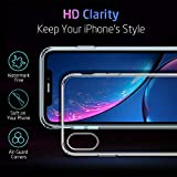 ESR Essential Zero Case for iPhone XR, Slim Clear Soft TPU Cover [Supports Wireless Charging] for The iPhone XR 6.1 (Released in 2018), Clear