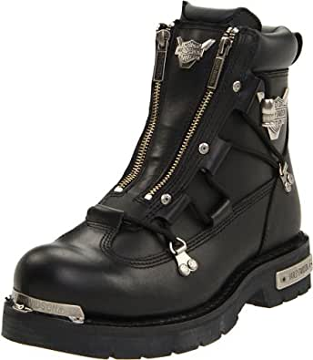 Harley-Davidson Men's Brake Light Riding Boot,Black,6 M