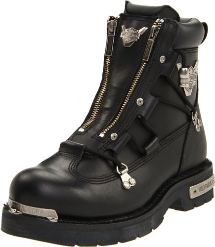 Harley-Davidson Men's Brake Light Riding Boot,Black,11 M