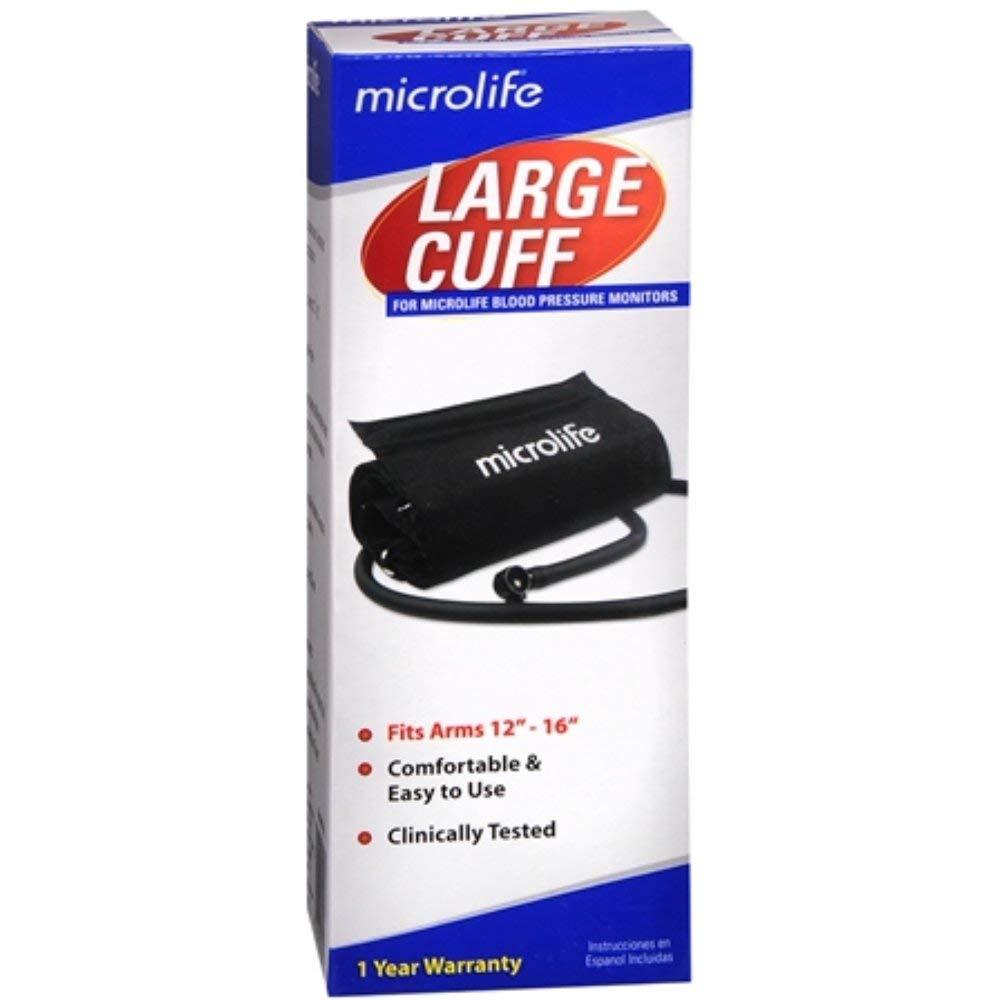 Microlife Microlife Cuff Large Blood Pressure Monitor Micr S102L, each Pack of 2