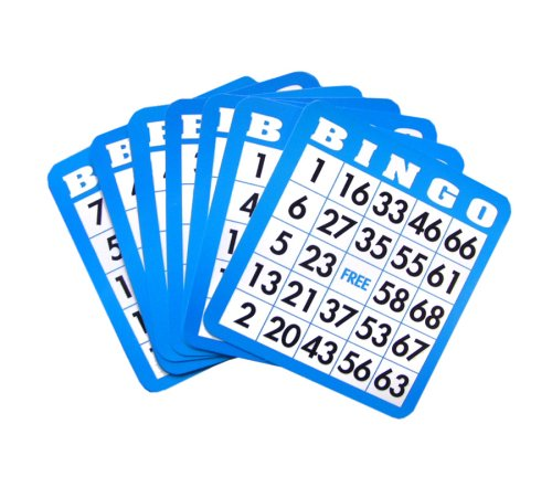 Huntar Popular Playthings Bingo Cards (Colors May Vary)