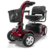 Victory 10 Pride 4-wheel Electric Mobility Scooter SC710 Red