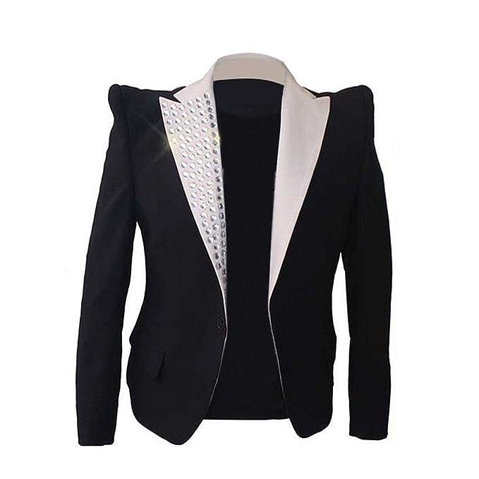 Amazon.com: Thriller9 Michael Jackson Blazer Chaqueta Rare ...
