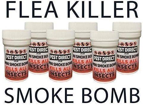 Dog 4 x Flea Bomb Killer Foggers For Fleas Expert Pest Mini 3.5g Treatment Cat
