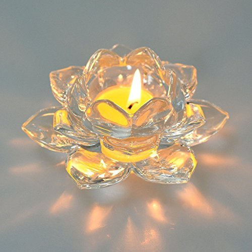 candle holders with crystals - 7