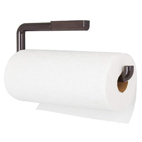 aus Edelstahl Selbstklebend Ohne Bohren faulkatze K/üchenrollenhalter Toilettenpapierhalter Papierrollenhalter wandmontage Rollenhalter f/ür K/üchenkrepp