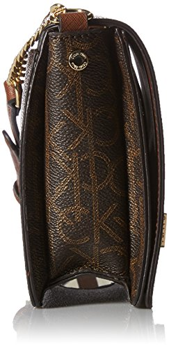 Klein Brown Khk Saff Ashley Calvin Luggage Crossbody Monogram 7wqRfvn1v