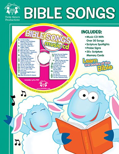 Bible Songs 48-Page Workbook & CD (I'm Learning the Bible Workbooks)