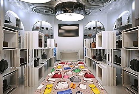 Rivestimento di pavimento d per negozio di moda accessori negozio
