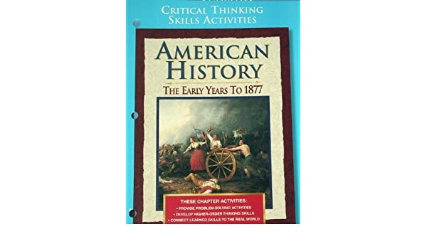 Counting Number worksheets free us history worksheets : American History: The Early Years to 1877, Critical Thinking ...