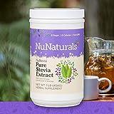NuNaturals Pure White Stevia Extract Powder Natural Sweetener, Sugar-Free (1 lb)