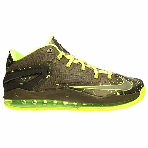 Nike Max Lebron Xi Låg Dunkman-mdm Khaki / Mdm Khk-vlt-mdm Oliv