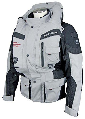 Hit Air (NEW! Hit-Air EU6 Ultimate Airbag Jacket (Grey) (L))